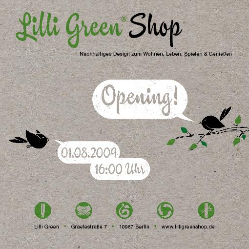 Lilli Green Shop Eröffnung
