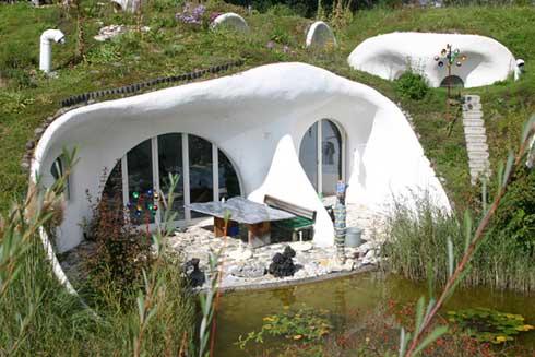 Hobbit Haus Bauen erdhäuser lilli green magazin für nachhaltiges design und