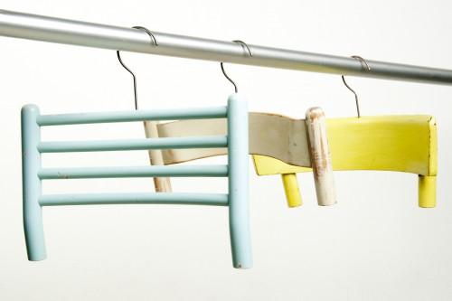 Recycling-Kleiderhaken aus alten Stuhllehnen - Lilli Green ...