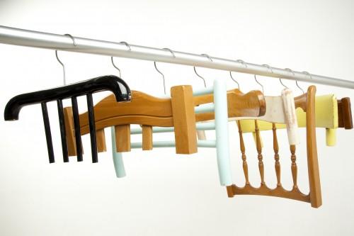 Recycling-Kleiderhaken aus alten Stuhllehnen – Lilli Green