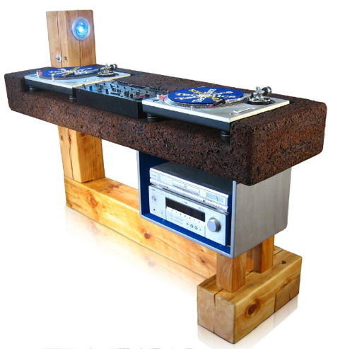 Favorit Recycling-DJ-Pult – Lilli Green DL56
