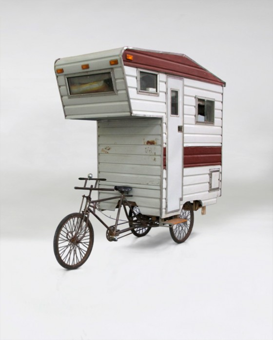 Pedal-getriebene Wohnmobil