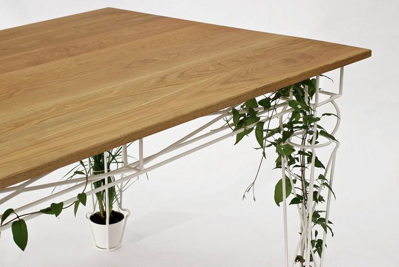vertical gardening unter dem tisch lilli green magazin f r nachhaltiges design und lifestyle. Black Bedroom Furniture Sets. Home Design Ideas