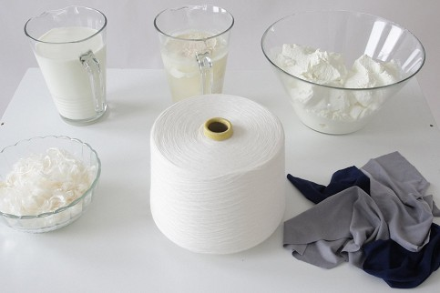 qmilch textilfasern aus milch. Black Bedroom Furniture Sets. Home Design Ideas