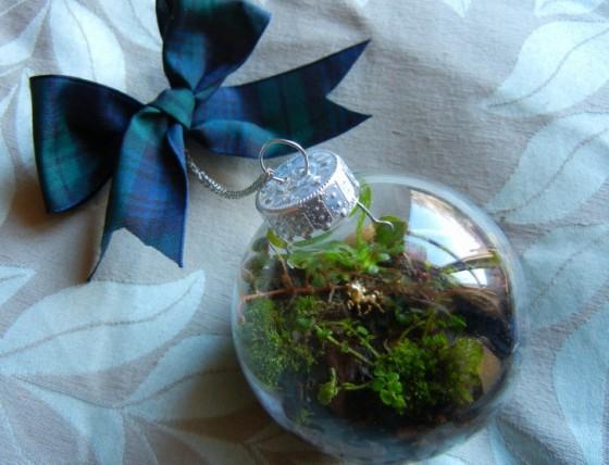 begrünte weihnachtskugel zum selbermachen | lilli green® - magazin, Garten ideen