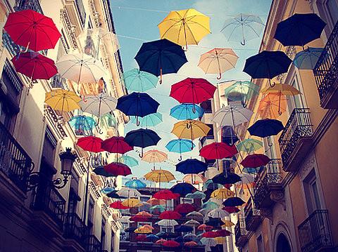 Recycling ideen selber machen  Regenschirme werden zu Lampen | Lilli Green® - Magazin für ...