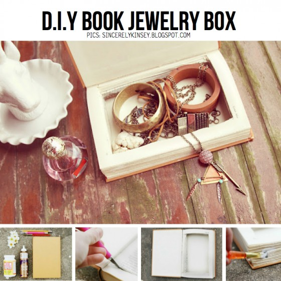 Book-jewelry-case