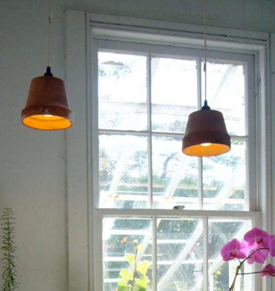Heute noch ein blumentopf morgen schon eine lampe lilli for Design blumentopf