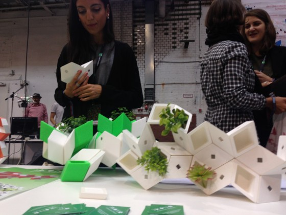 3D Elements of Nature Sara Vignoli Maker Faire Berlin