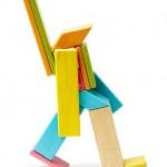 Tegu - magnetische Holzblöcke - Figur