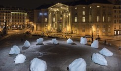 Ice Watch Paris - Olafur Eliasson - Place du Pantheon