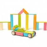 Tegu - magnetische Holzblöcke - Tor und Auto