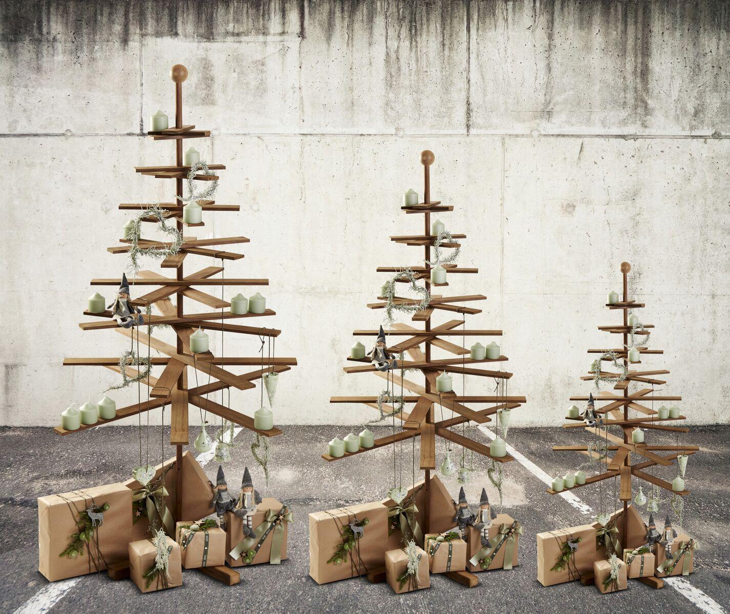 Lisas Erster Weihnachtsbaum.Skandinavischer Designer Weihnachtsbaum Aus Holz Von Habitree