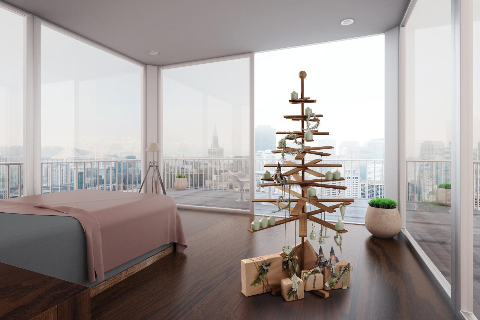 Alternative Zum Weihnachtsbaum skandinavischer designer weihnachtsbaum aus holz habitree