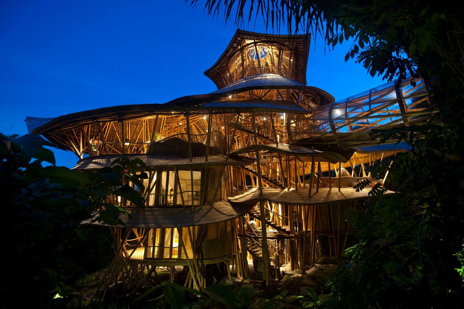 Die fantastische Bambusarchitektur von Ibuku | Lilli Green ...