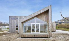 Nachhaltiges Modularhaus mit Kebony-Holz