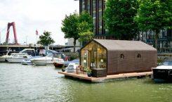 Wikkelhouse - Tiny House Boat Rotterdam