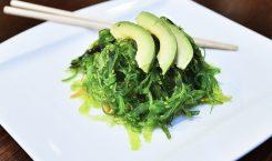 Essen mit Algen
