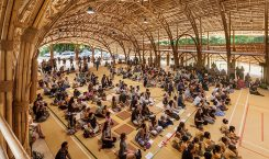 Bambusdesign: Sporthalle aus Bambus in Changmai - Bild: Alberto Cosi