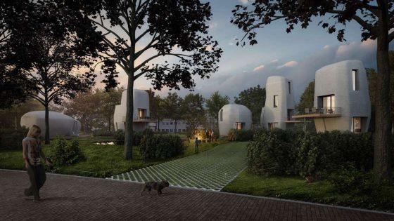 Häuser aus 3D Drucker (Niederlande)