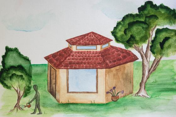 Strohballenhaus im Selbstbau