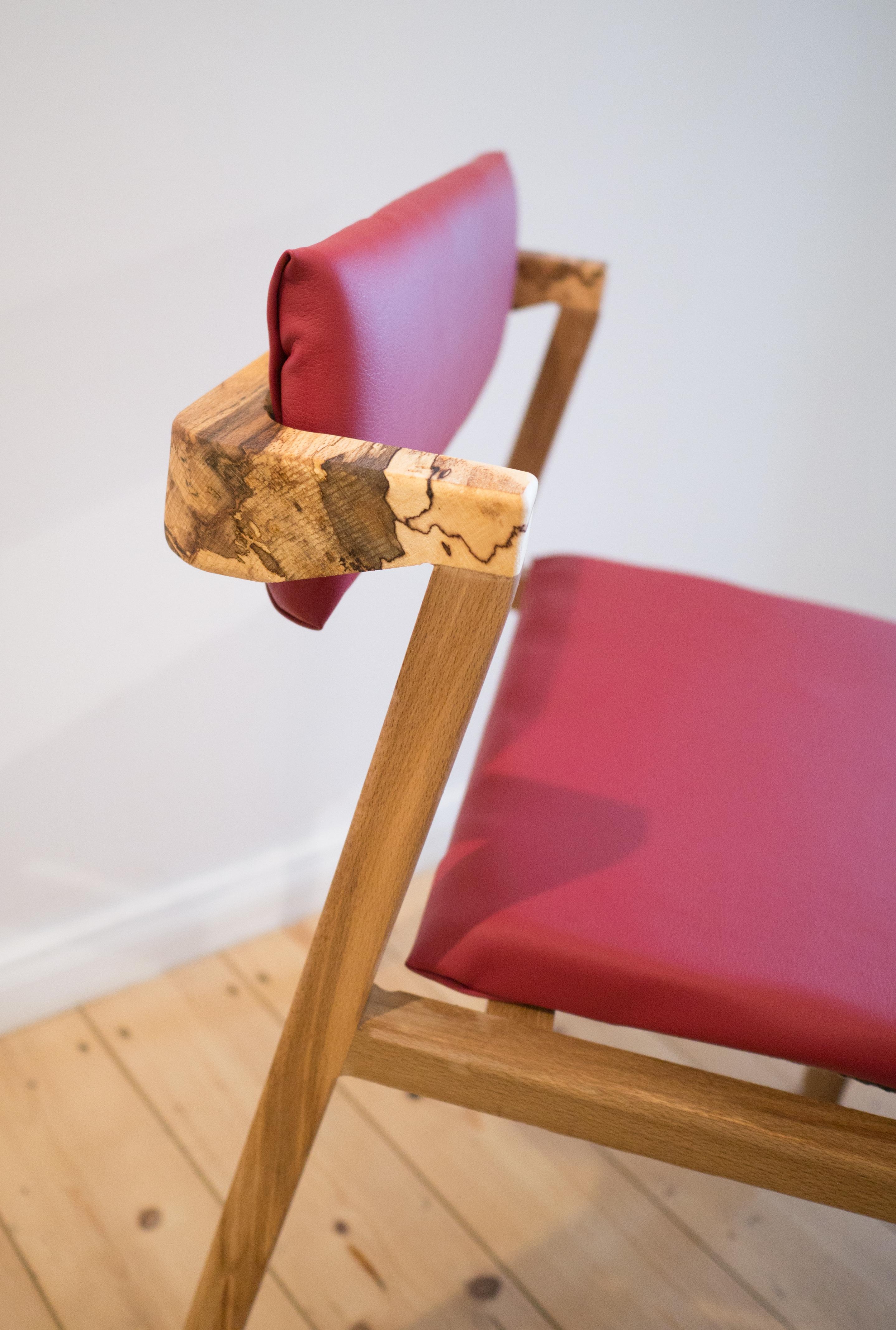 Maru Nachhaltige Möbel - Öko Design Stuhl aus Holz