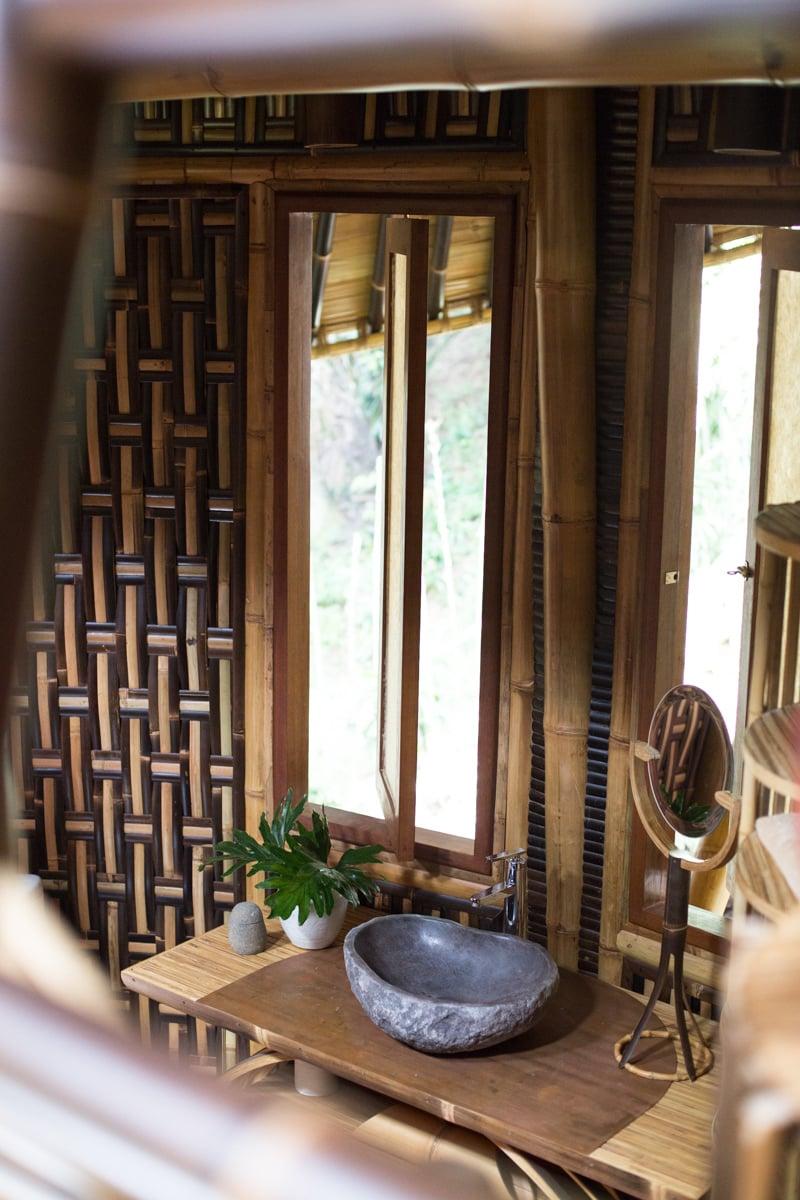 Plastikfreies Bad: Bambus Interior Design von Ibuku