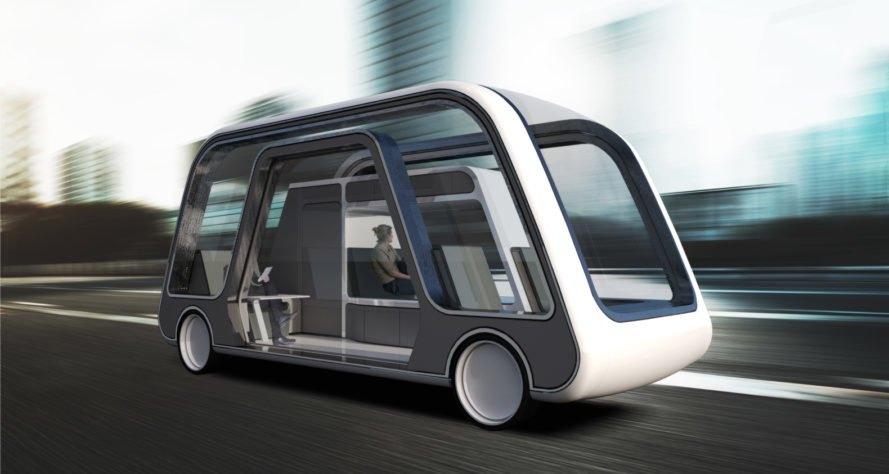 Zukunftsmobilität - Auto und Hotel in einem