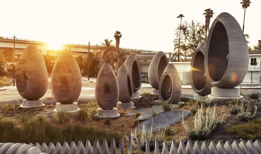 nachhaltige garten kunst skulpturen pflanzen, markantes kunstwerk fängt regenwasser auf – lilli green, Design ideen