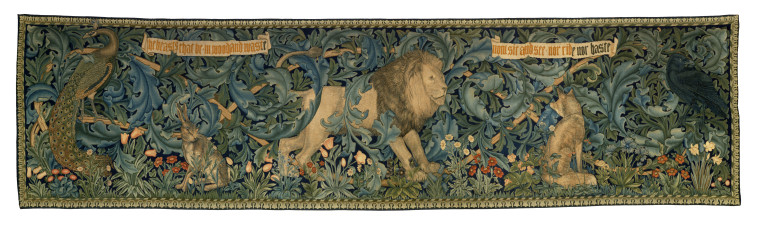 Wandtapete The Forest von William Morris