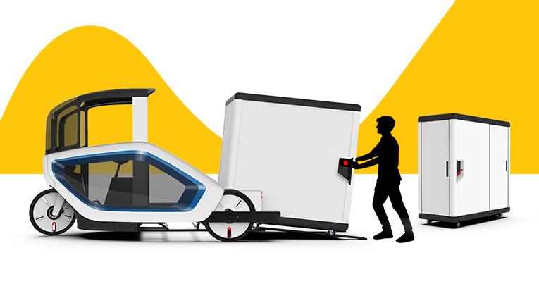 E-Cargo Lastenfahrrad
