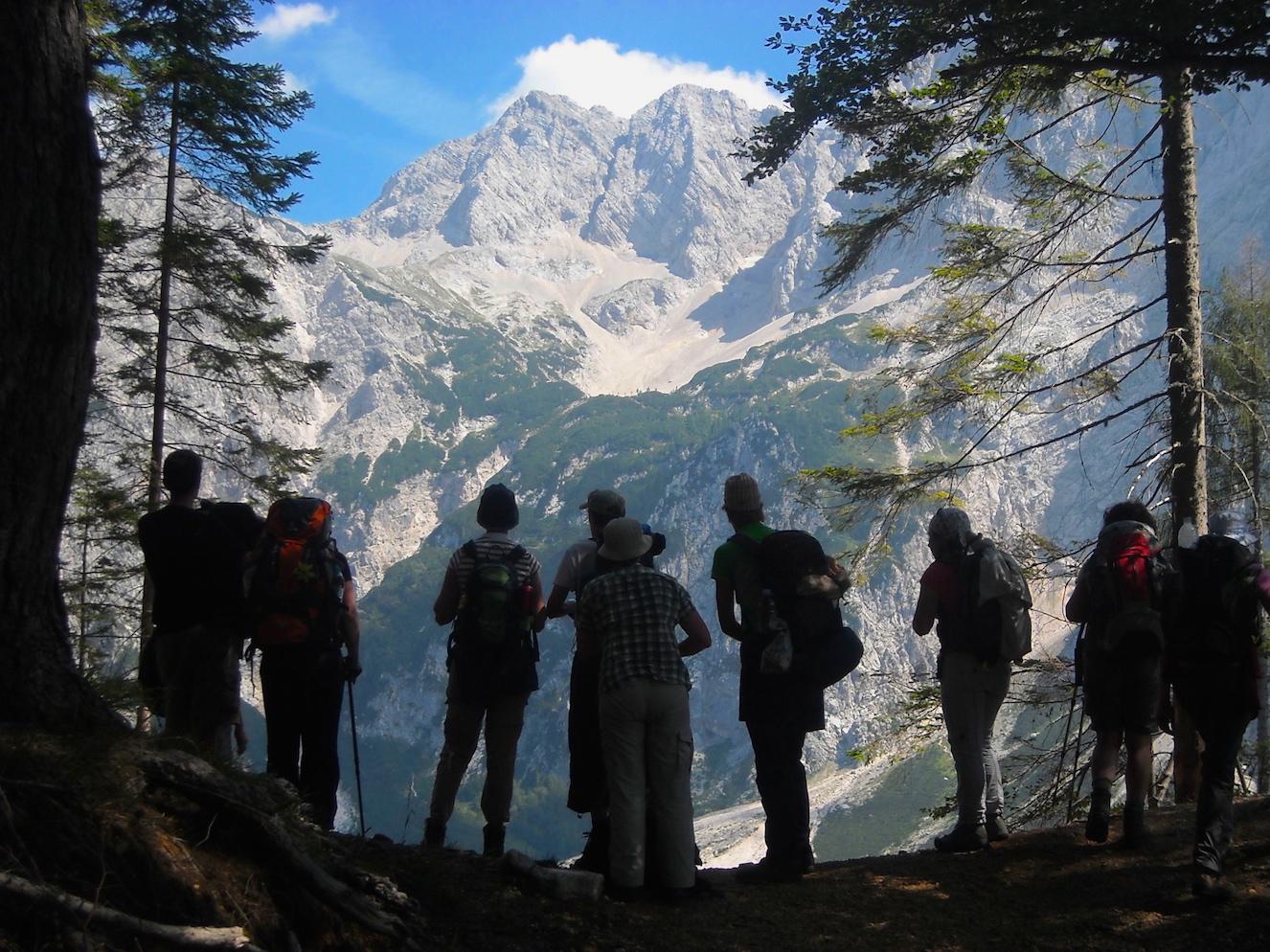 Positive Fussspuren - ReNatour - Wandertour Alpen Slovenien