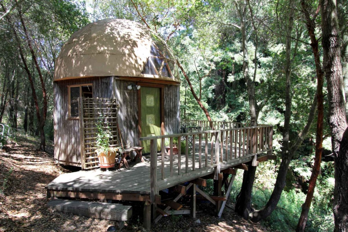 Besondere Nachhaltige Unterkuenfte - Kuppelhaus