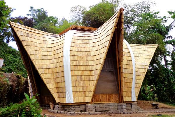 Bambus Lodge auf Bali - Ibuku / Bamboo U