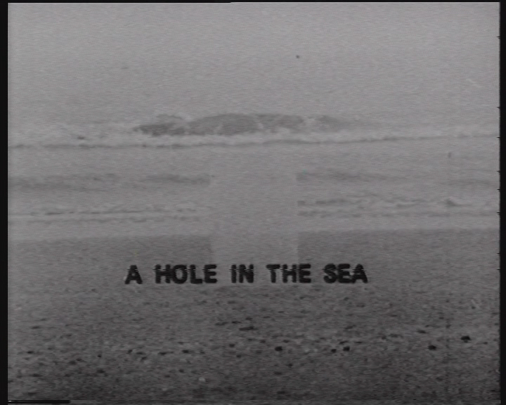 Land Art - Gerry Schum - A hole in the sea
