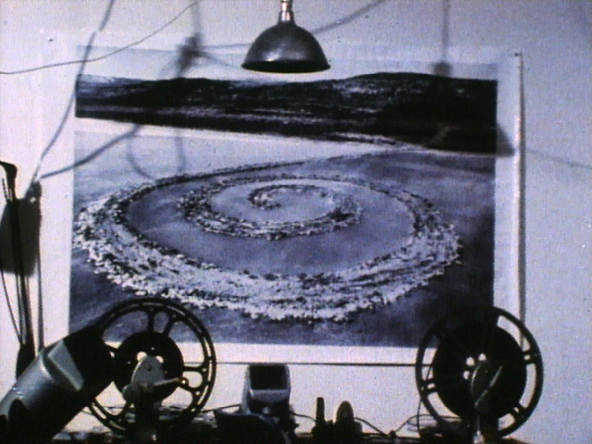 Land Art Installation - Spiral Jetty von Robert Smithson