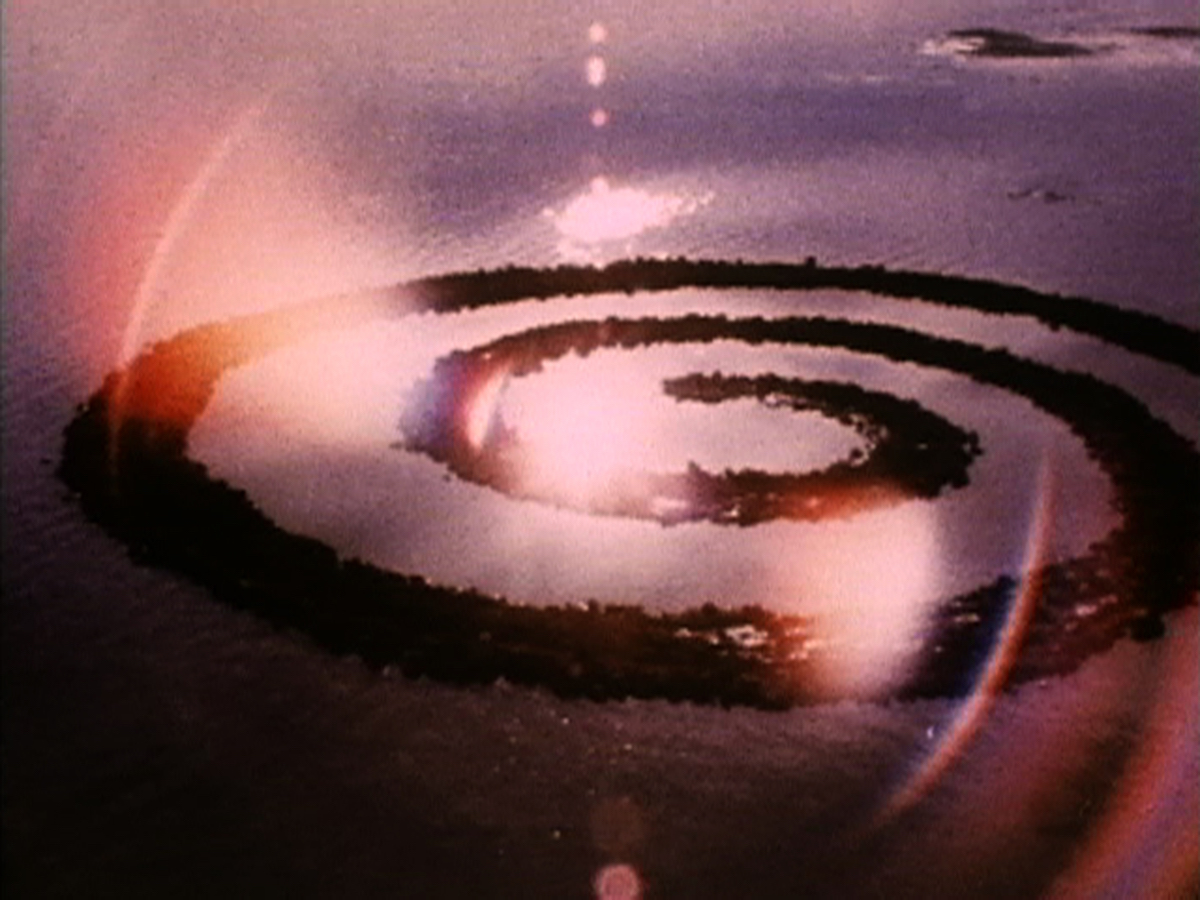 Land Art - Spiral Jetty von Robert Smithson