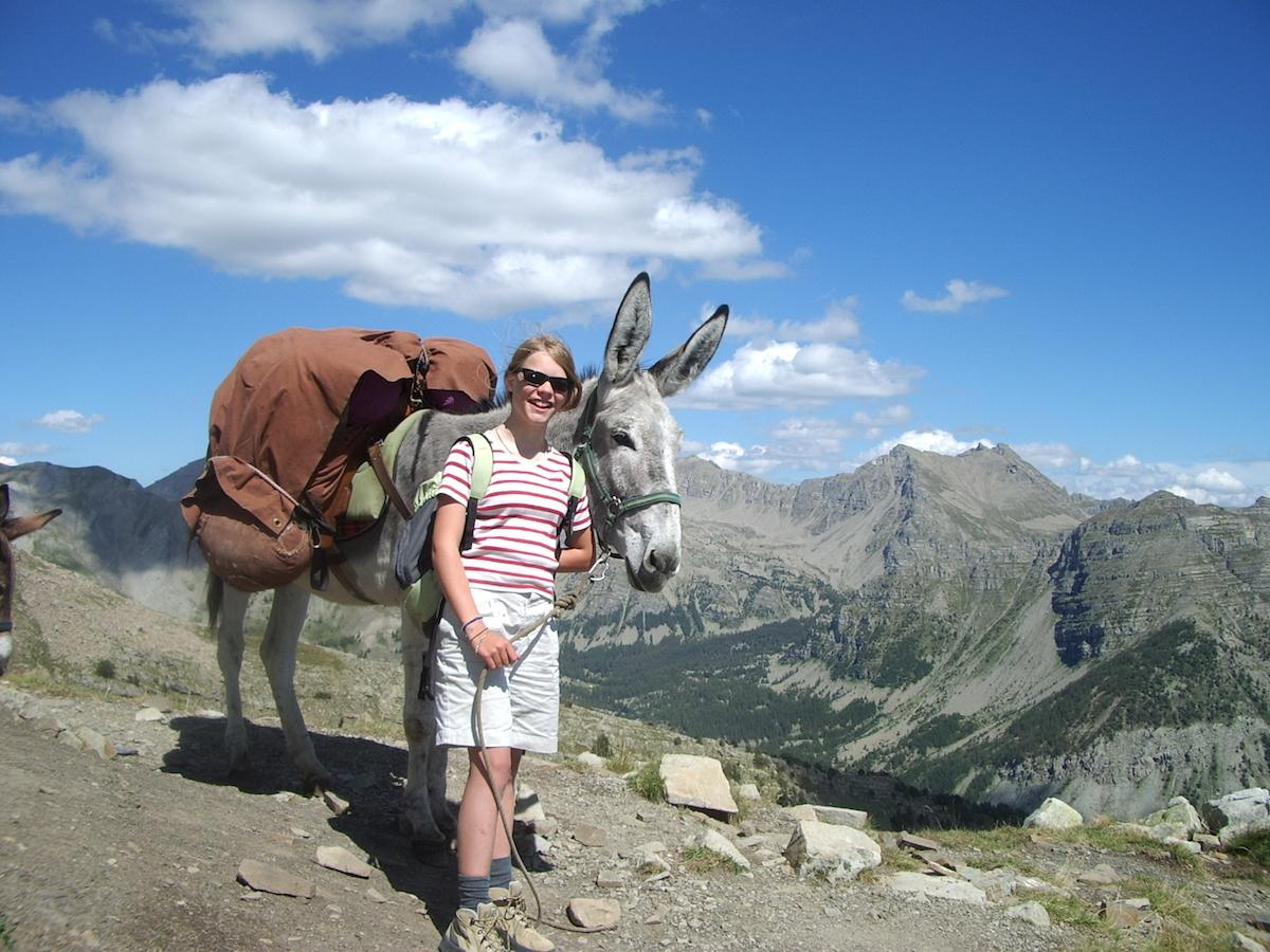 Zero Waste Reisen - mit Esel nachhaltig unterwegs