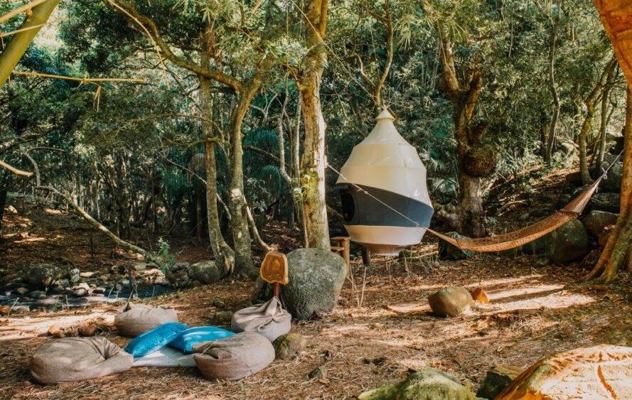Seedpod - Baumhaus Zimmer von Nomadic Resorts