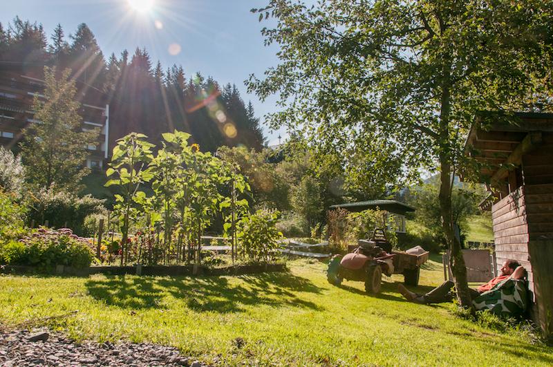 Biohotel Grafenast Tiroler Alpen Umgebung