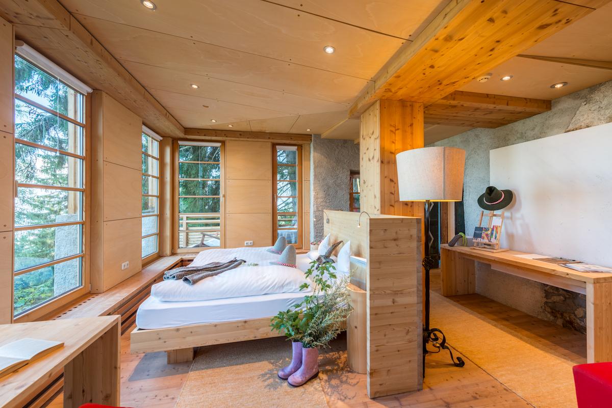 Zimmer Biohotel Grafenast Tiroler Alpen