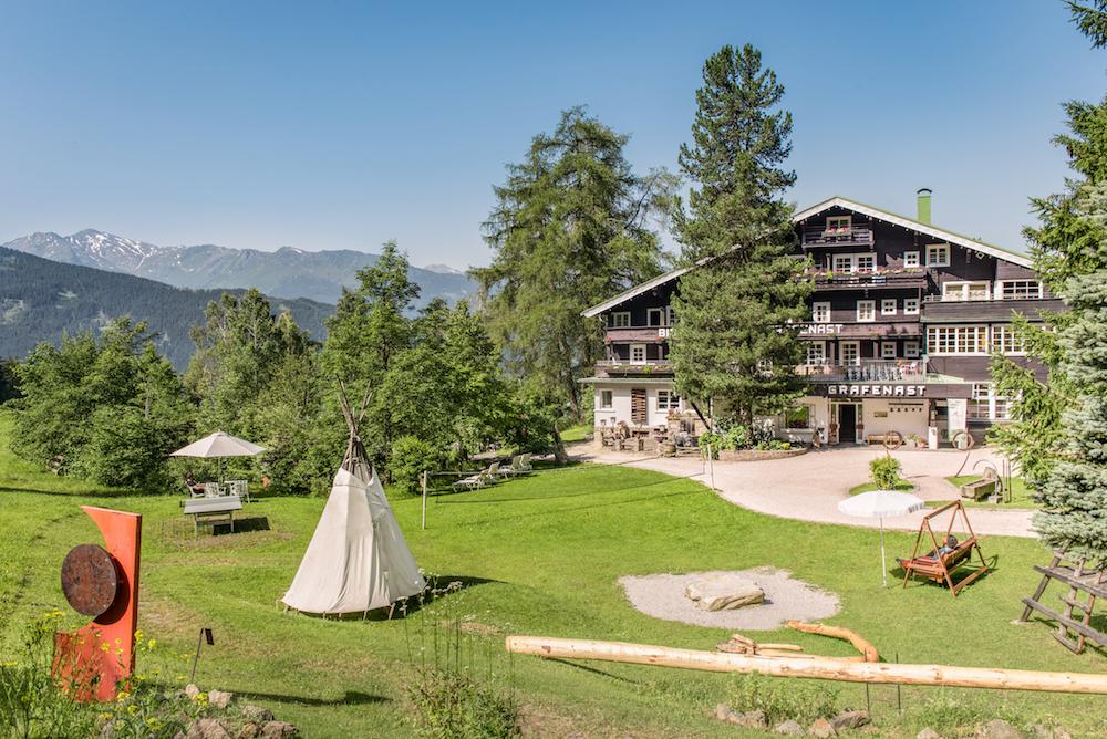 Biohotel Grafenast Tiroler Alpen