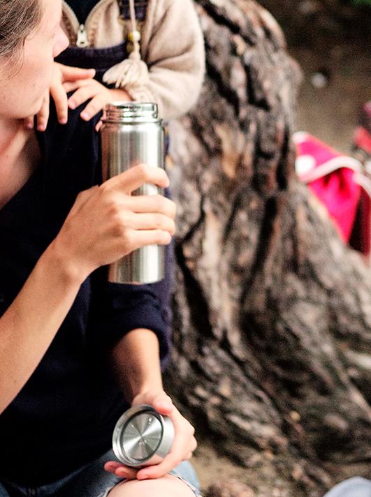Nachhaltige Trinkflaschen - Edelstahl Isolierbehaelter von ECO Brotbox