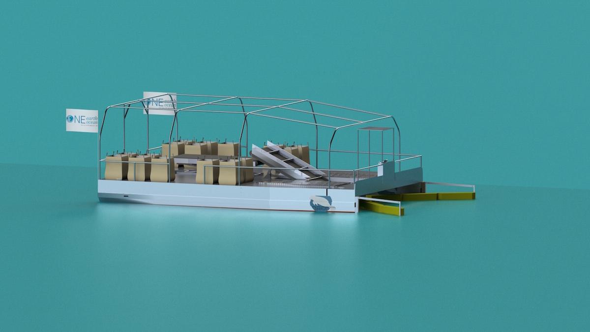 Muellsammelschiff SeehKuh 2 von One Earth One Ocean
