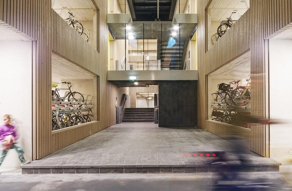 Welgroesste Fahrradparkplatz in Utrecht - Bild Petra Appelhof