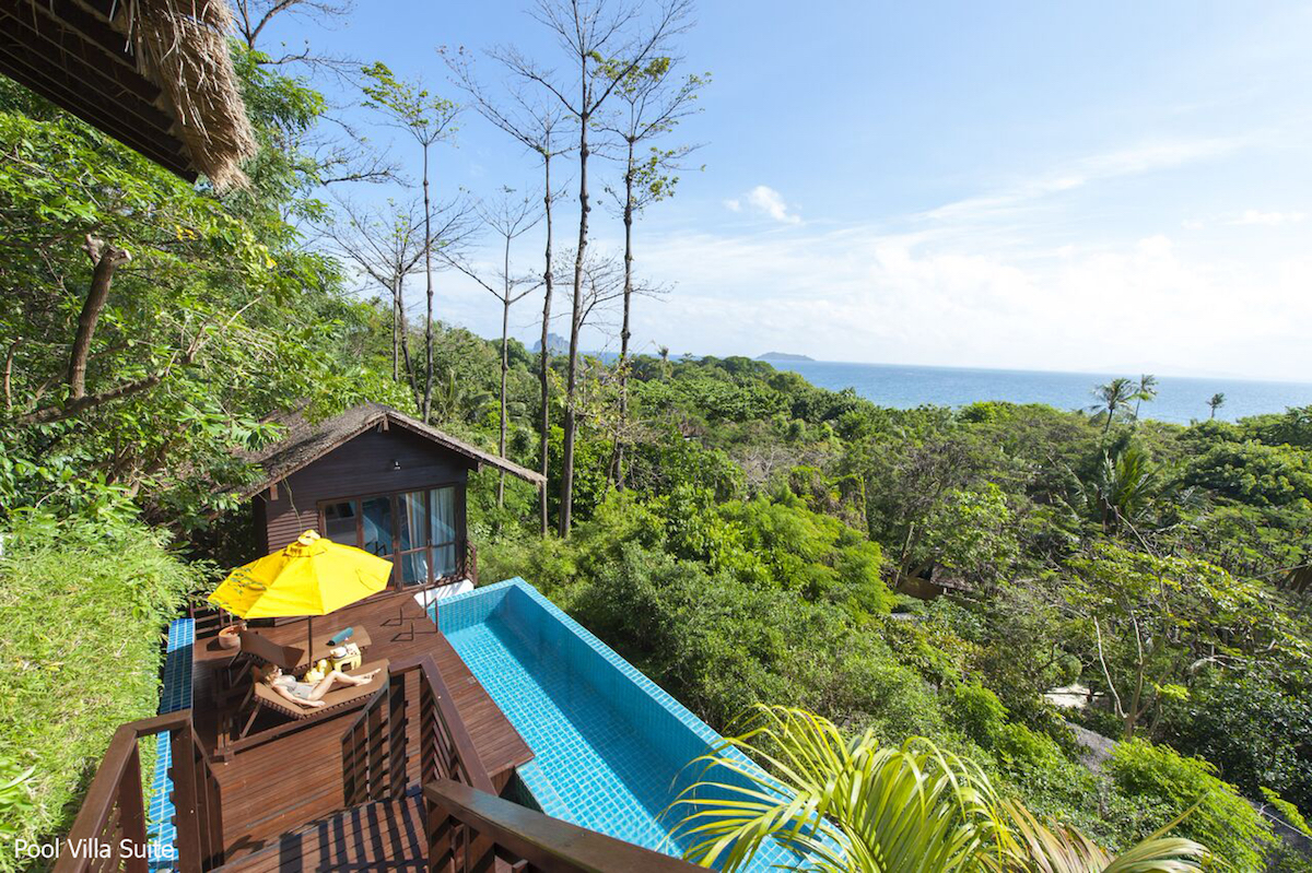 Zeavola Eco Resort Koh Phi Phi Tailand Pool