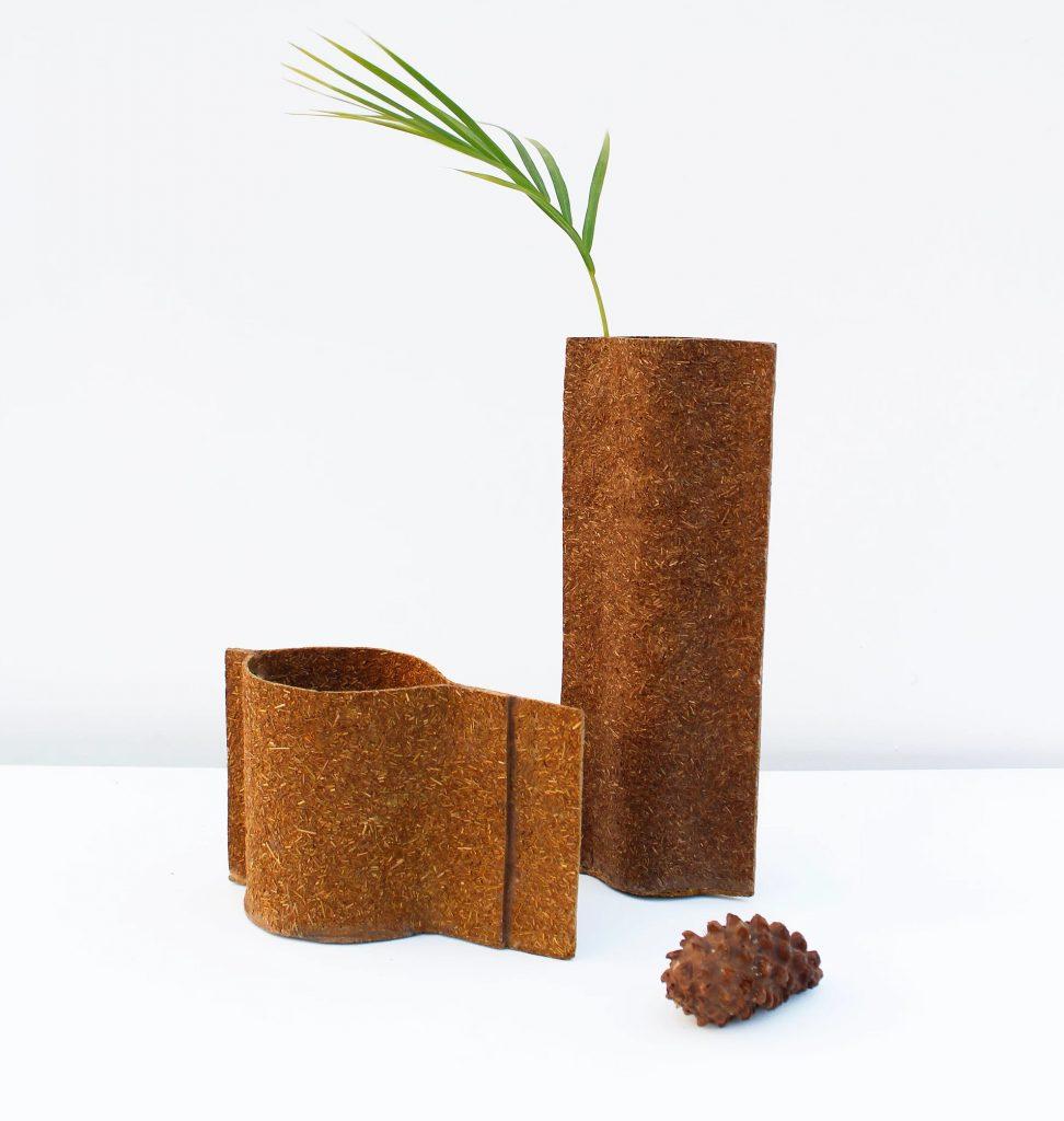 Zero Waste Design: Vasen aus Naturmaterialien
