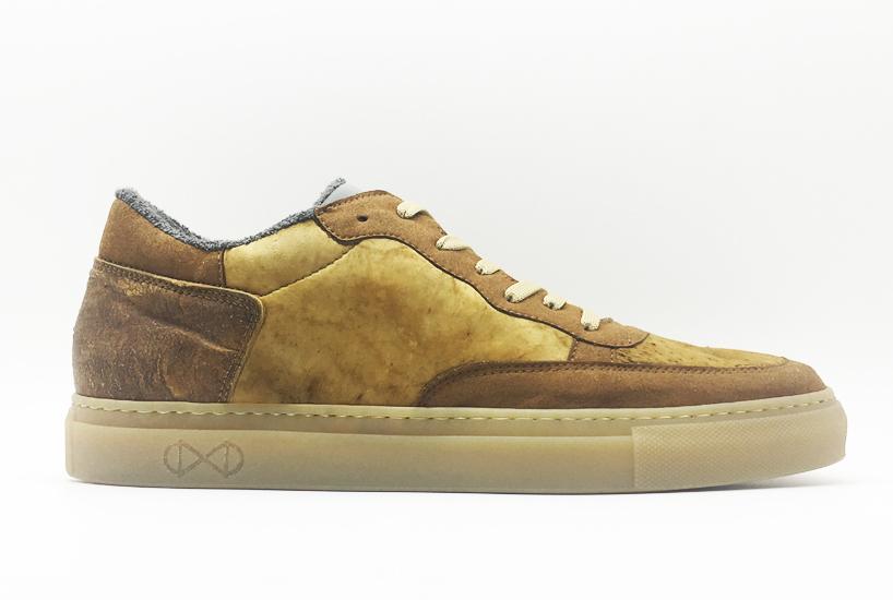 Vegane Designprodukte aus Zunderschwamm-Pilz: Sneaker von Nat-2
