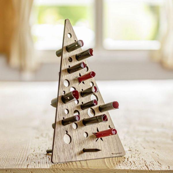 Nachhaltige Adventskalender aus Holz zum selber machen