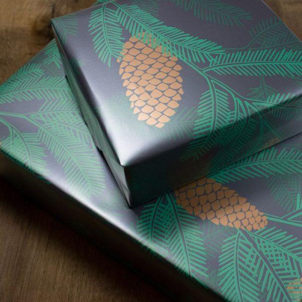 Nachhaltiges Weihnachts Geschenkpapier